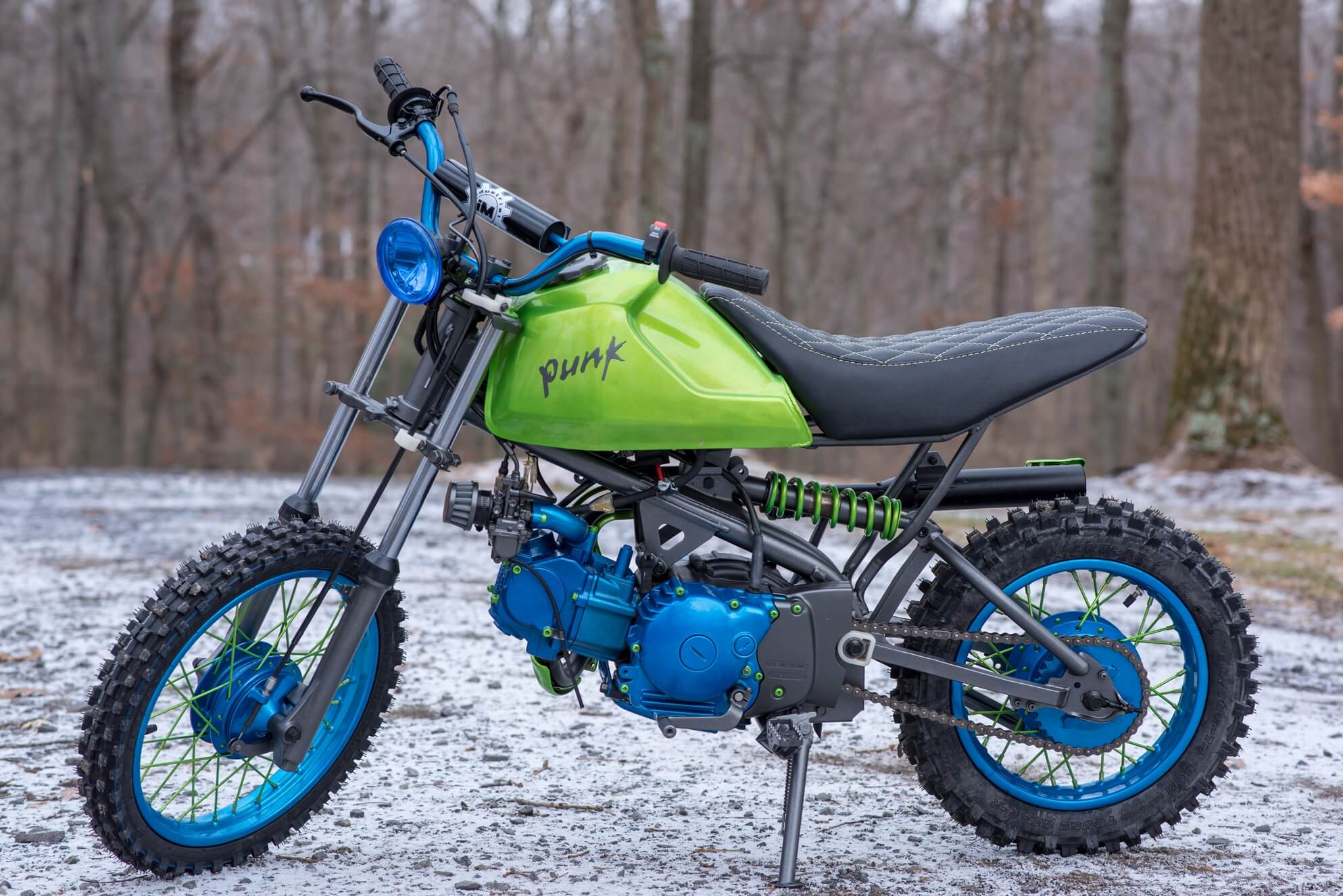 project PUNK – industrial Moto